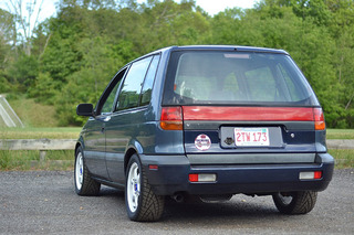 The Story Behind the 420HP Dragstrip Minivan: Your Ride