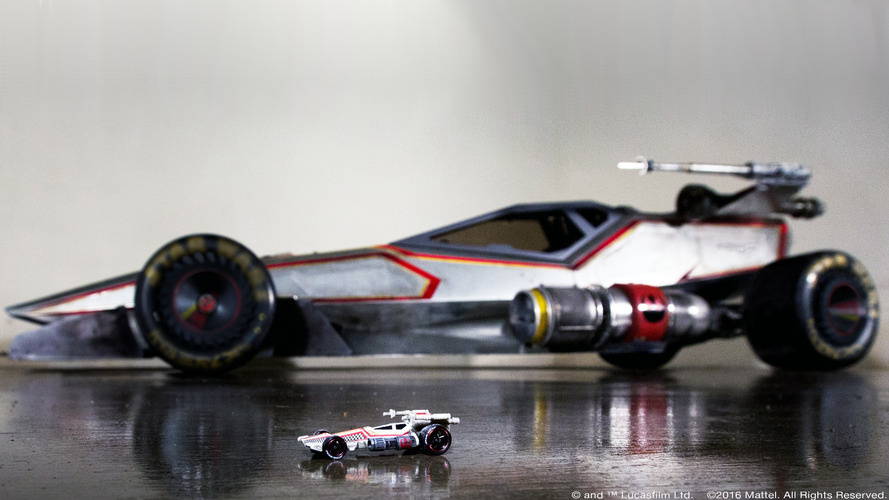 Hot Wheels X-Wing car makes our inner 6-year old freak out
