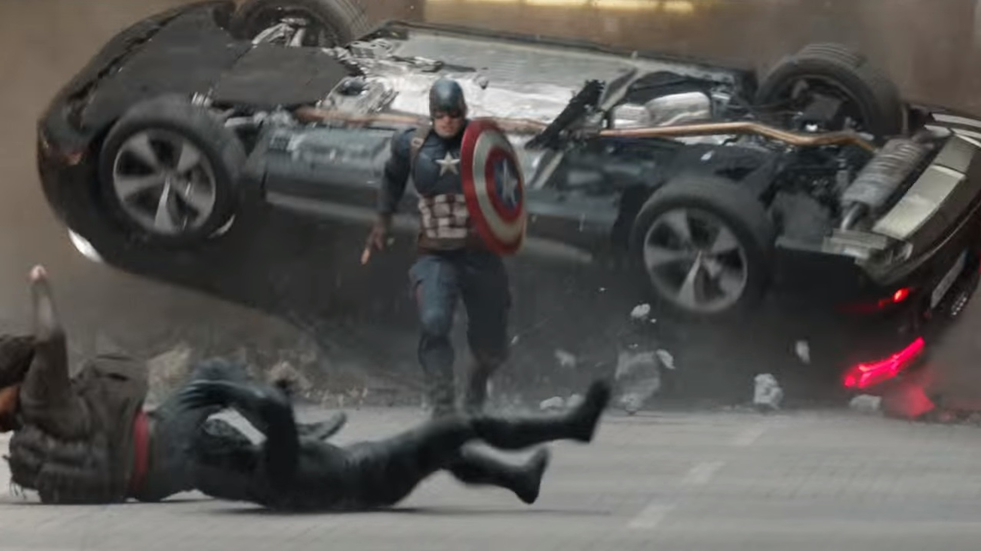 Audi Q7s Are Everywhere In New Scenes From Captain America