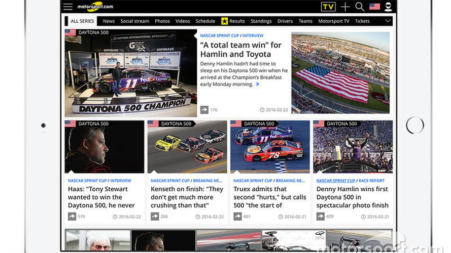 Motorsport.com Diversifies North American Digital Platform