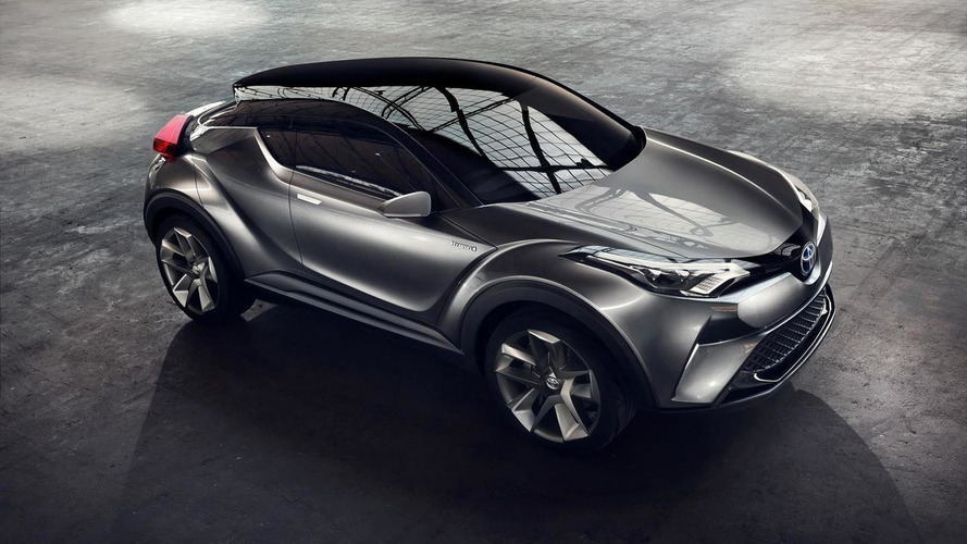 Toyota introduces near-production C-HR hybrid concept in Frankfurt