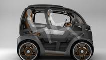 Designer envisions intelligent city car