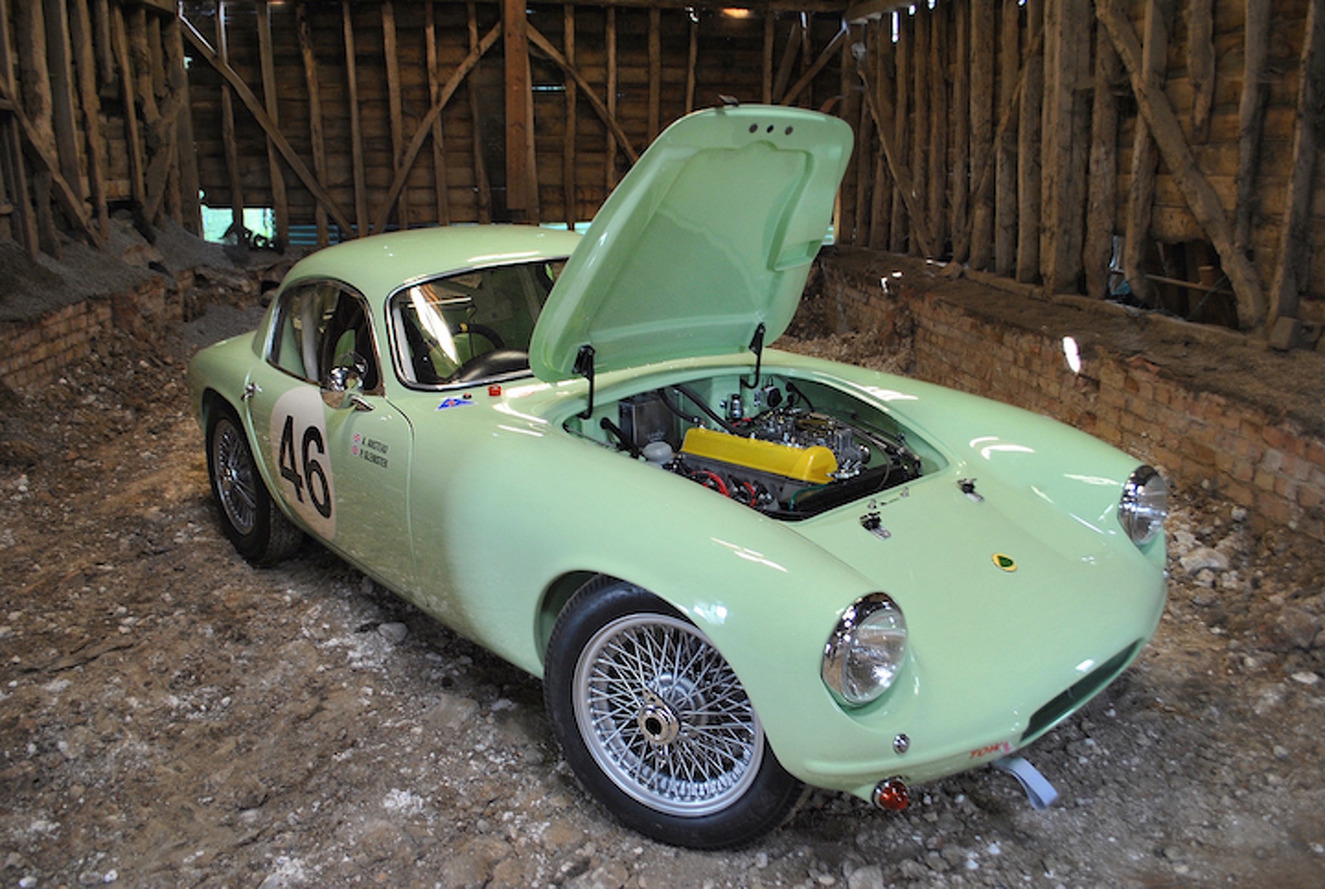 Minty Fresh 1958 Lotus Elite Series 1 Headed To Auction