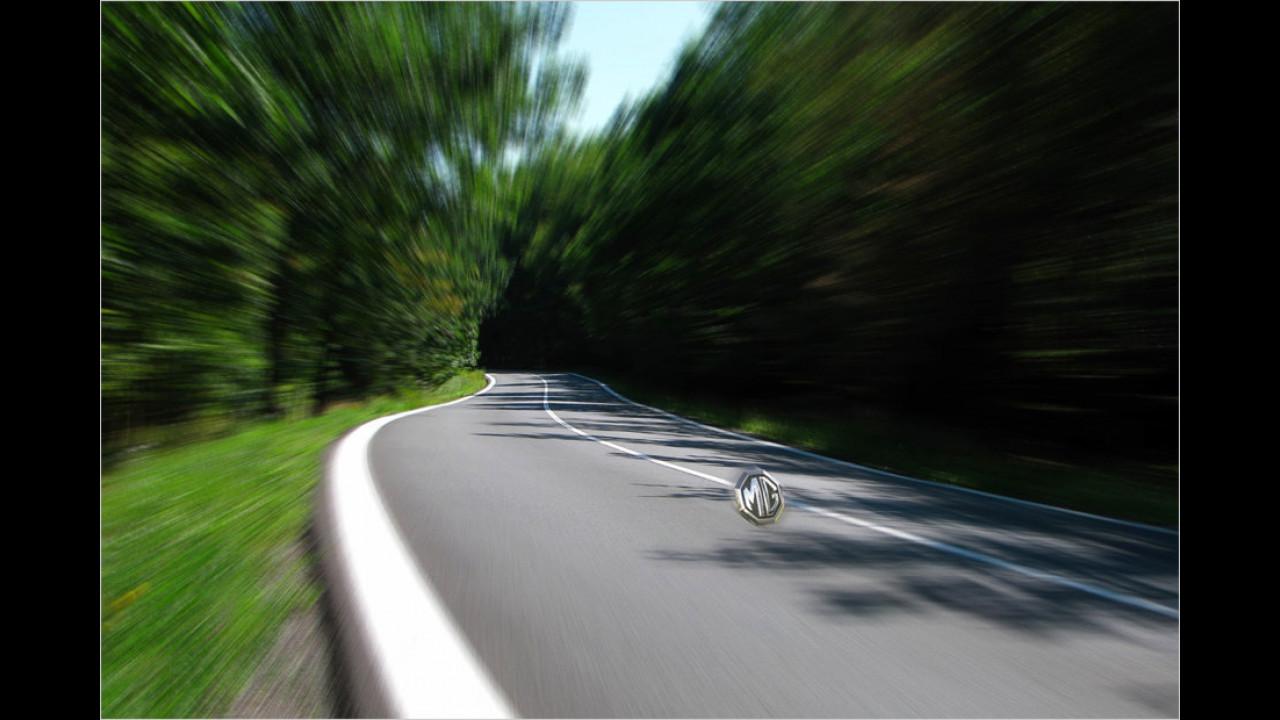 MG: Unsichtbares Konzeptfahrzeug
