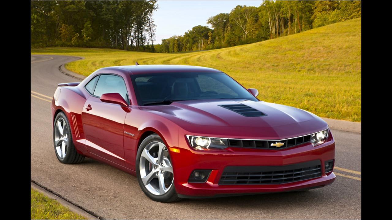 Ford Mustang gegen Chevrolet Camaro