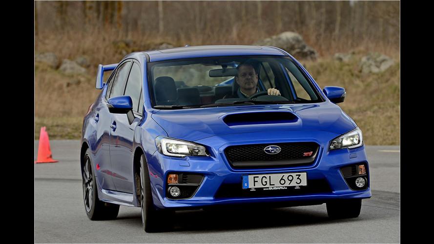 Test Subaru WRX STI: Ja, soo muss Technik!