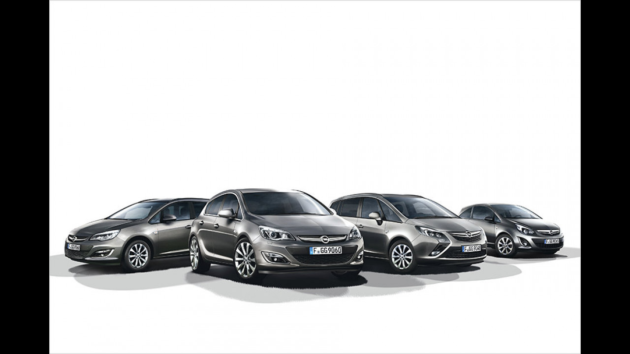 Opel Active Sondermodelle