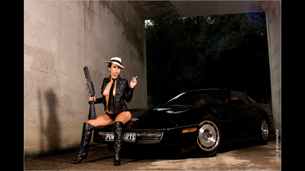 Chevrolet Corvette C4 und Katy