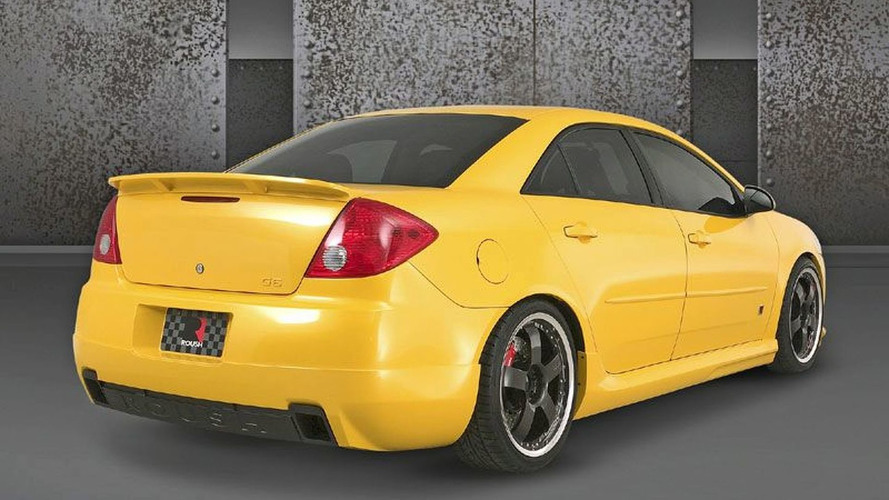Roush Pontiac G6 Signature Edition Receives GM Design Award