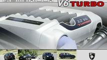 Porsche Cayenne Gemballa V6 Turbo conversion kit