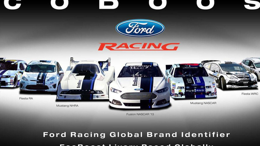 Ford introduces global racing livery at SEMA - forgets WRC bow out