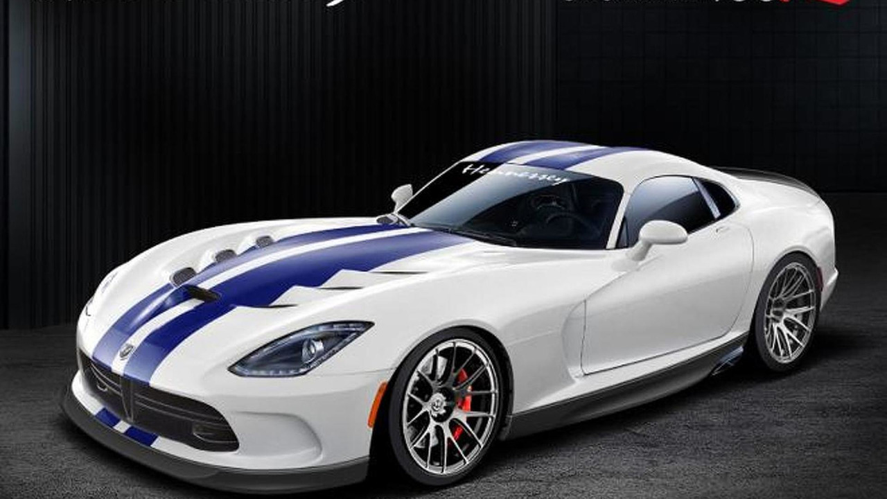 2013 SRT Viper-based Venom 700R by Hennessey Performance