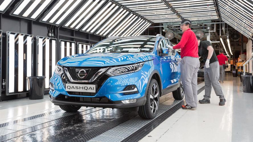 Makyajlı Nissan Qashqai üretimi başladı