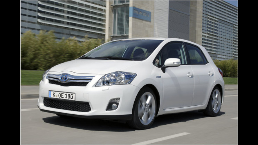Toyota Auris HSD: Viel Hui, aber kein Boah
