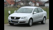VW Passat mit Sparmotor
