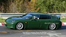 2009 Porsche Panamera spy pic