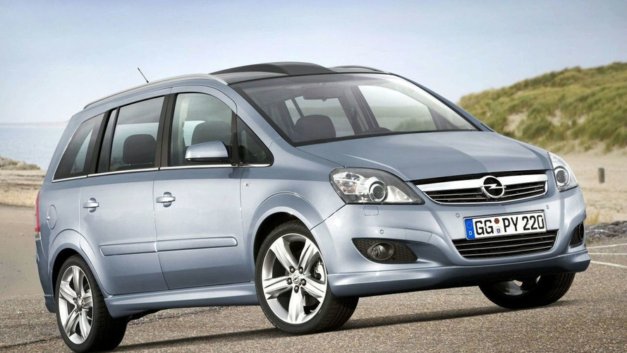Facelifted Opel Zafira to Make World Premiere at Bologna