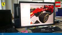 Lego Ferrari Formula 1 aracı