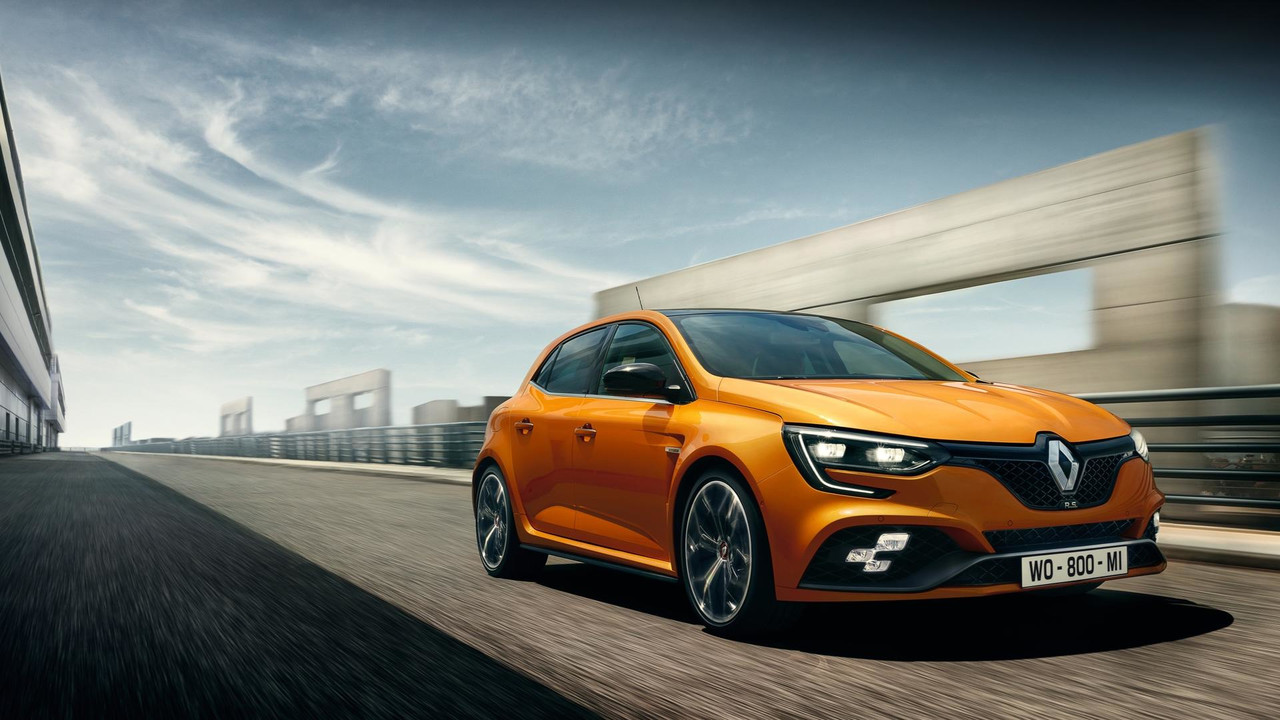 2018 renault megane rs revealed photos. Black Bedroom Furniture Sets. Home Design Ideas