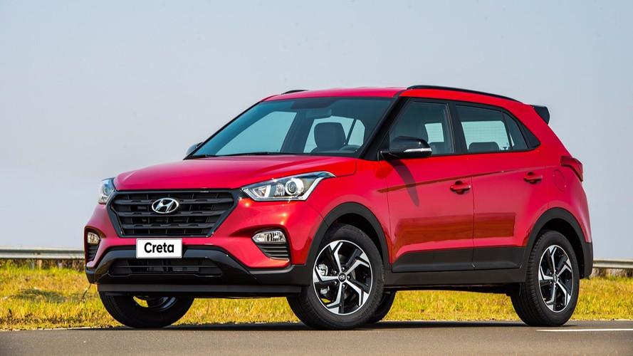 Preço revelado: Hyundai Creta Sport é lançado por R$ 94.990