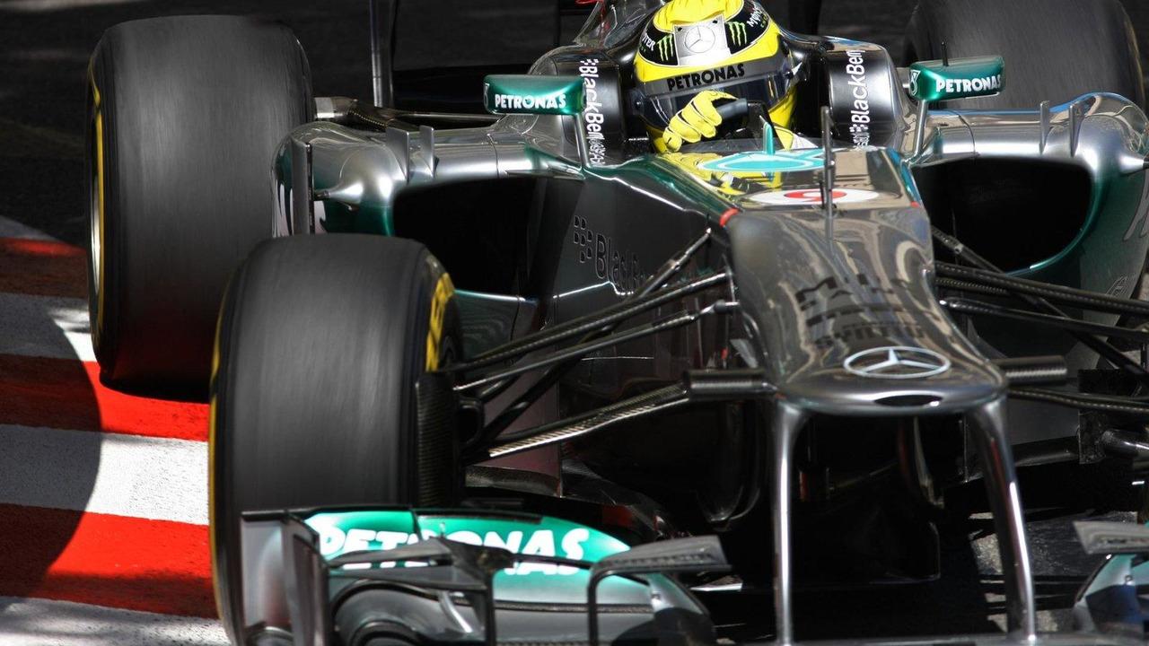 Nico Rosberg 23.05.2013 Monaco Grand Prix