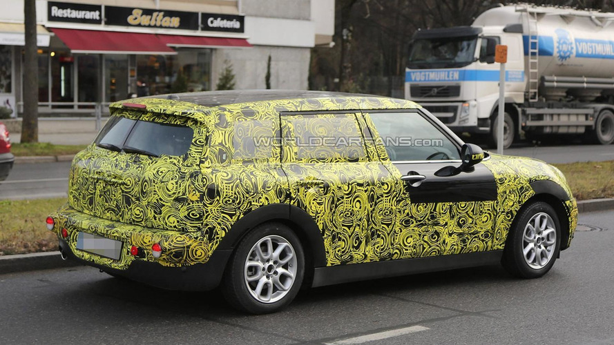 Considerably larger 2015 MINI Clubman spied in Germany