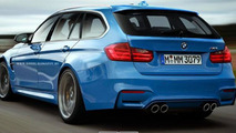 2014 BMW M3 rendered in Touring version