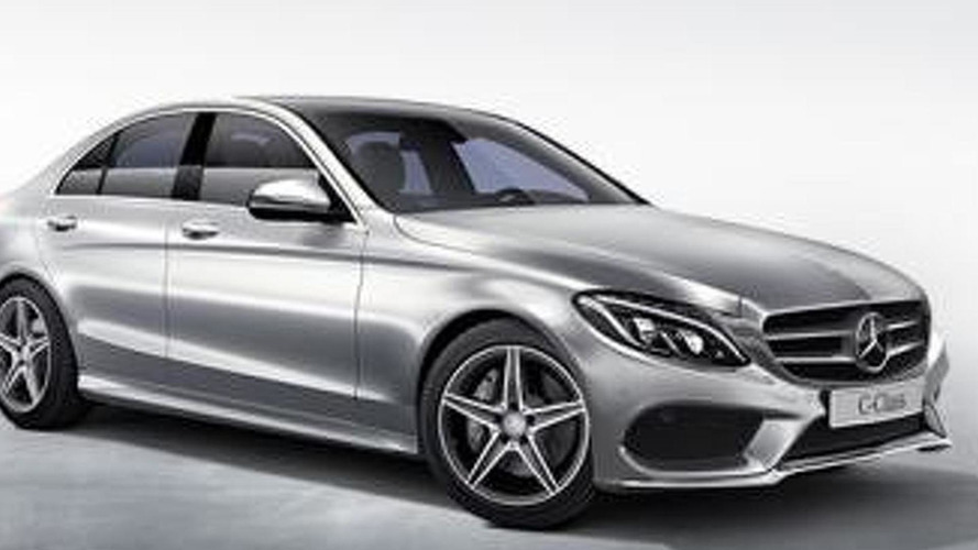2014 Mercedes-Benz C-Class leaks yet again in big batch of official pics