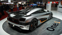 1,341 HP Koenigsegg One:1 has the X factor in Geneva [video]