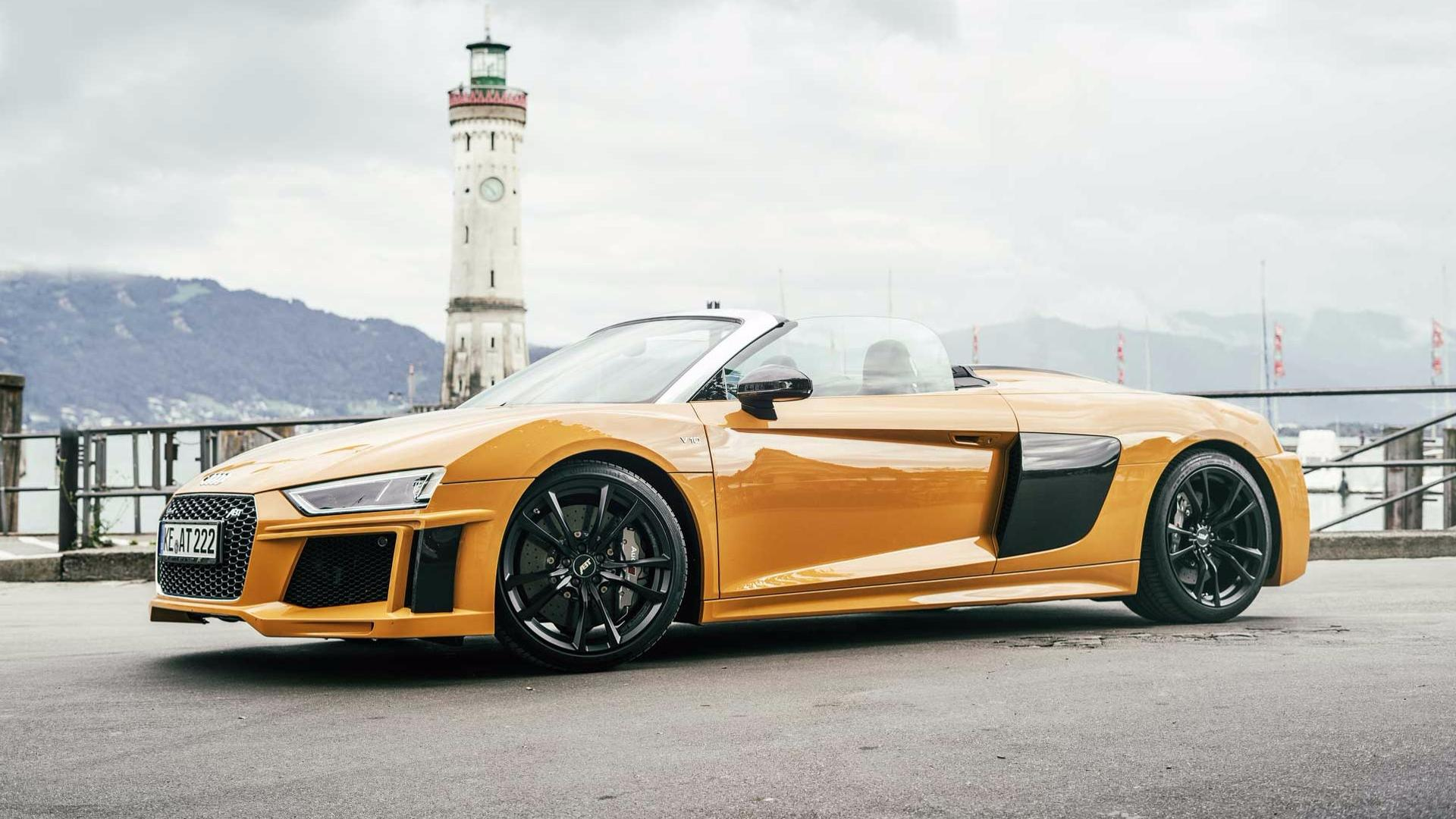 Audi R8 V10 Gets 630 Hp Quot Plus Quot Upgrade From Abt