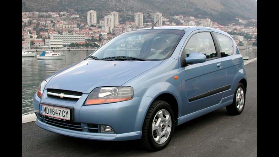 Chevrolet/Daewoo: Kalos-Dreitürer kommt Mitte Februar