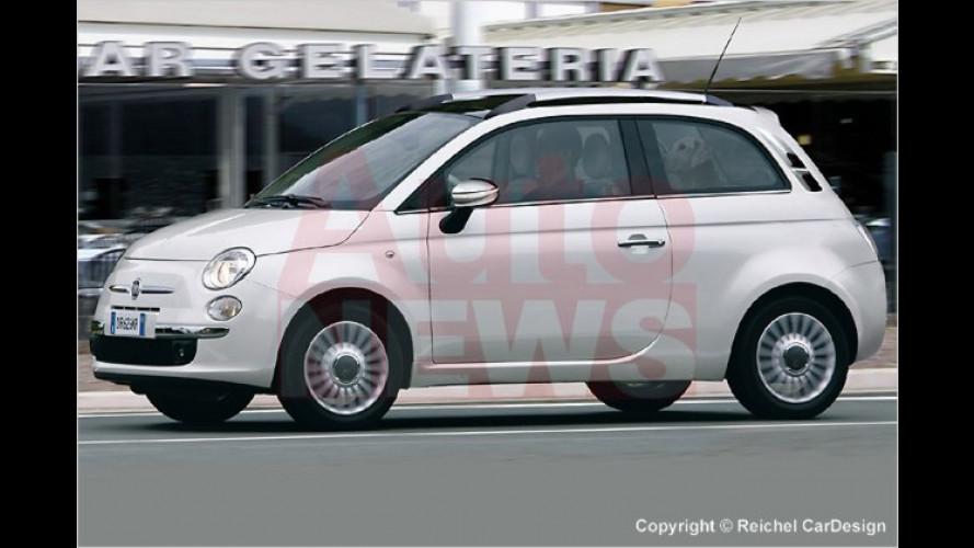 Fiat 500: Der Familienzuwachs ist schon unterwegs