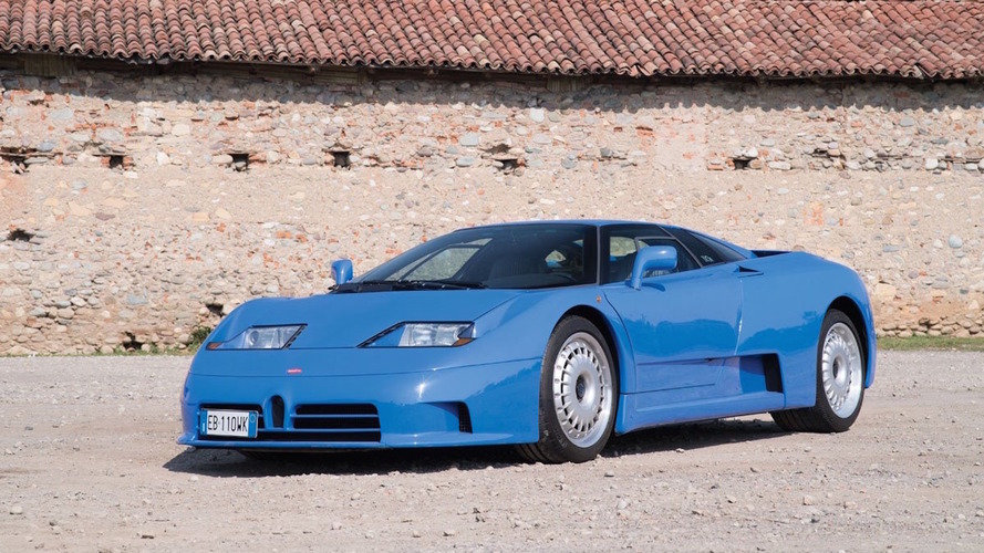 Bu güzel Bugatti EB110 GT açık arttırmaya gidiyor