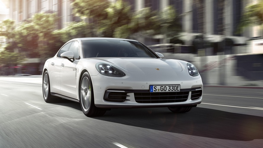 Porsche Panamera 4 E-Hybrid has 31-mile electric range