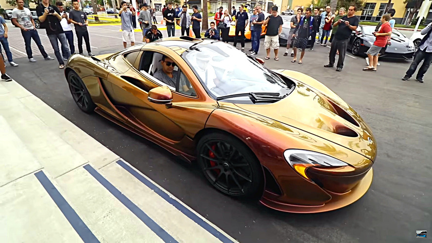 'Bukalemun' McLaren P1 gizlenmeyi pek beceremiyor