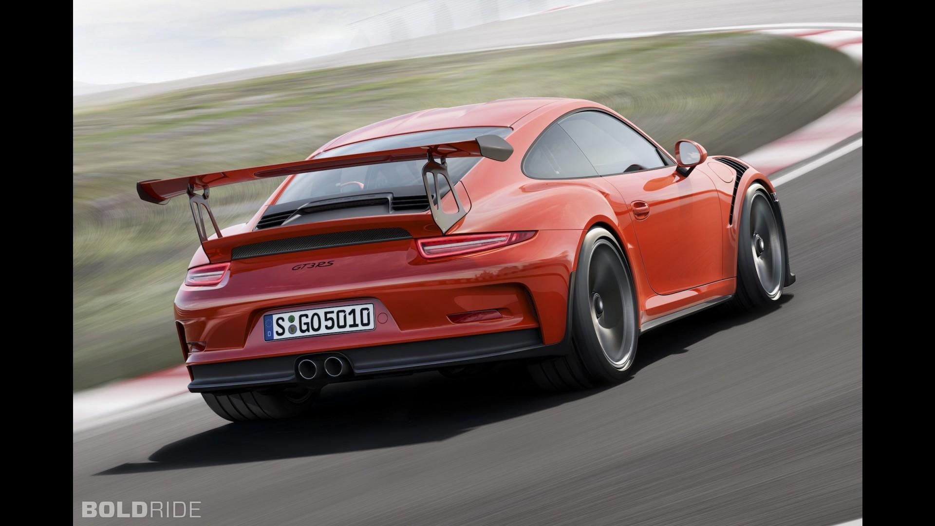 Самая быстрая Porsche 911 GT3 RS