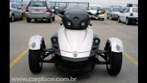 Rodando por aí: Leitor fotografa um CAN-AM Spyder Roadster em Florianópolis