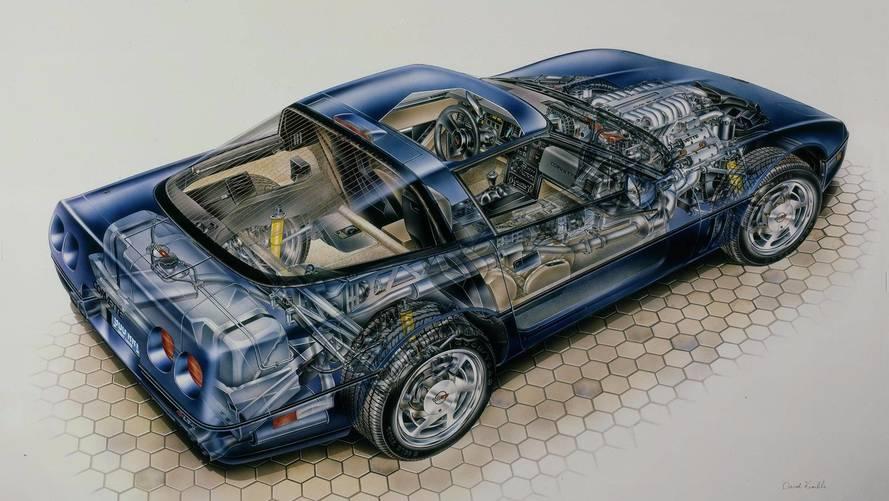 Corvette ZR-1 Kimble Cutaway: America's First Mainstream Supercar