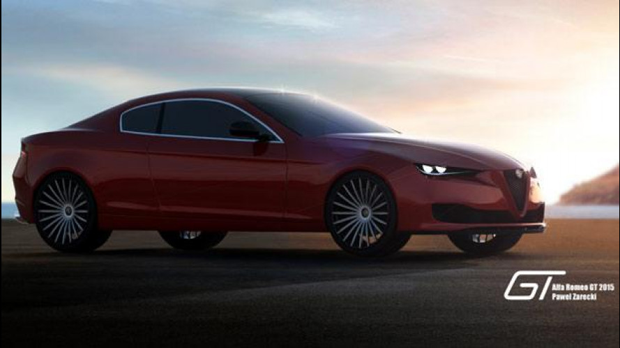 Alfa Romeo GT, un'idea di super coupé