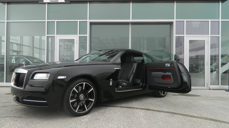 Rolls-Royce Wraith Carbon Fiber isn't actually lighter