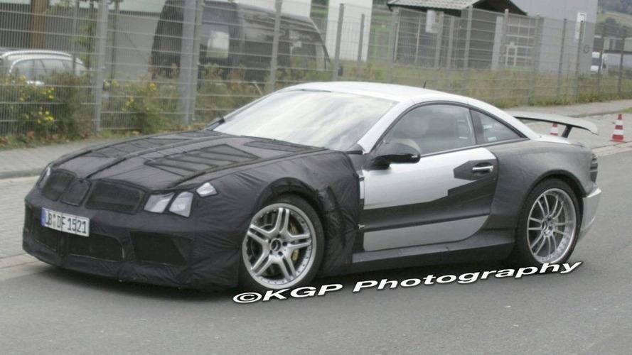 Mercedes SL Black Series Spied