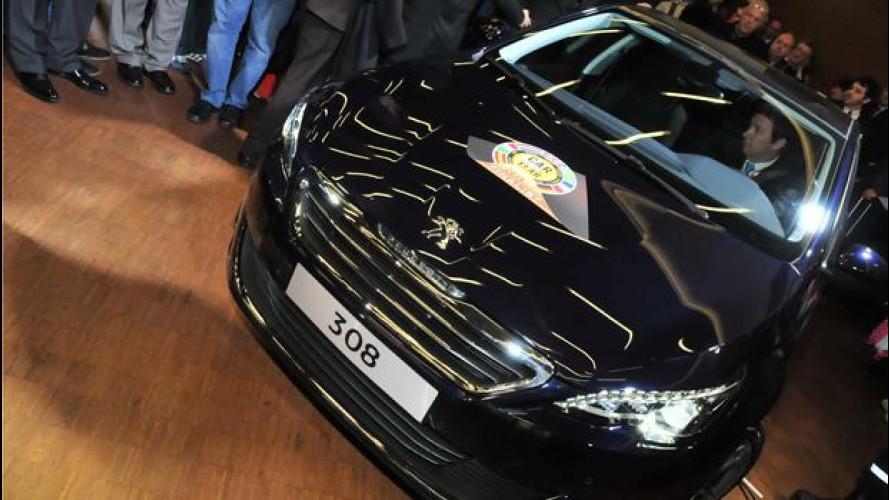 Peugeot 308 incoronata Auto dell'Anno 2014 al Salone di Ginevra