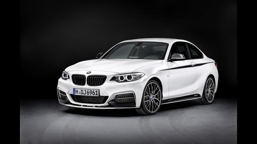 BMW Serie 2, arrivano gli accessori M Performance
