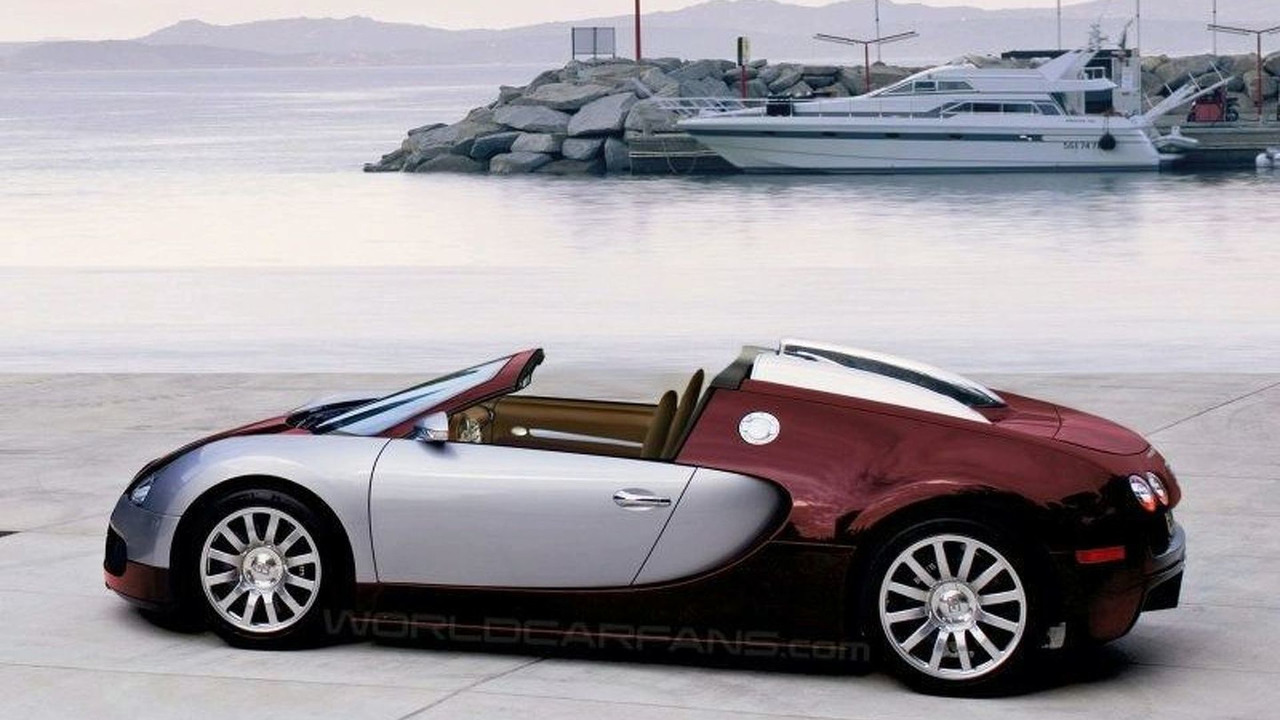 Bugatti Veyron Targa artist impression