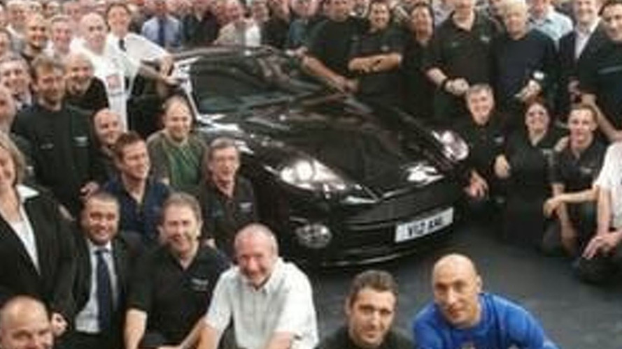 Aston Martin Celebrates End of a 50-Year Era at Newport Pagnell