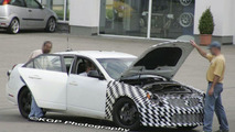 Cadillac CTS-V Engine Bay Spy Photos