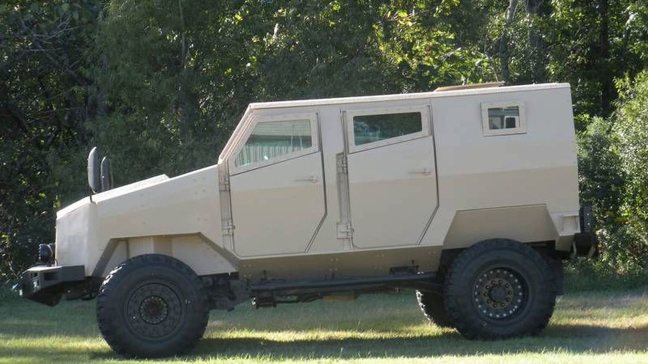 Arotech Tiger Light Protected Vehicle