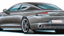 Cargraphic lightly retouches Aston Martin Rapide