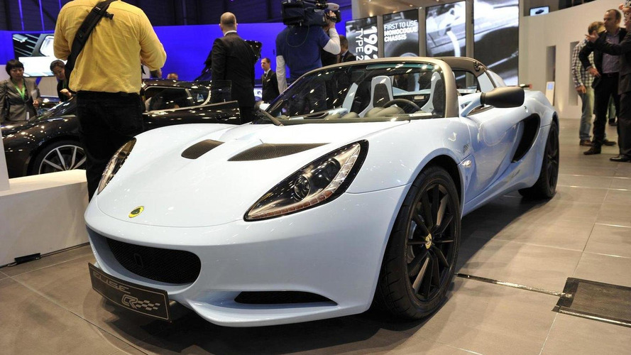Lotus Elise Club Racer live in Geneva