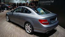 Mercedes-Benz C 220 CDI Coupe BlueEFFICIENCY live in Geneva - 01.03.2011